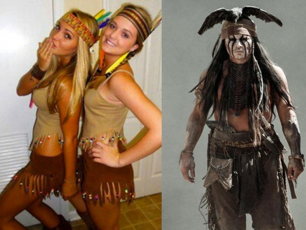 not even johnny depp can pull it off - Native American Costume Halloween