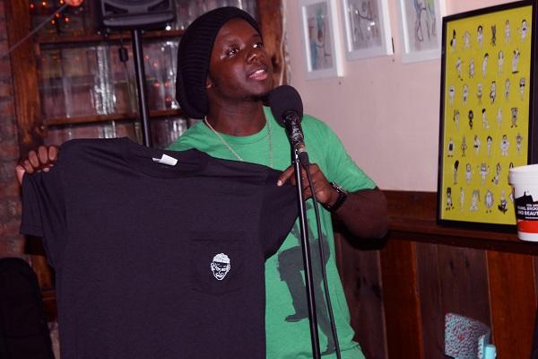 Young-Broke-Beautiful-Party-Dardy-Bar-Broke-Ass-Stuart-NYC-Freddie-Cosmo-A-Color-Green-Shirt