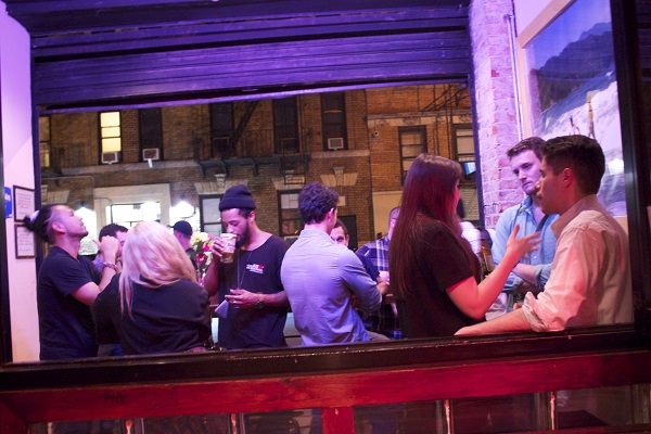 Young-Broke-Beautiful-Party-Dardy-Bar-Broke-Ass-Stuart-NYC-Guests-Front-Porch