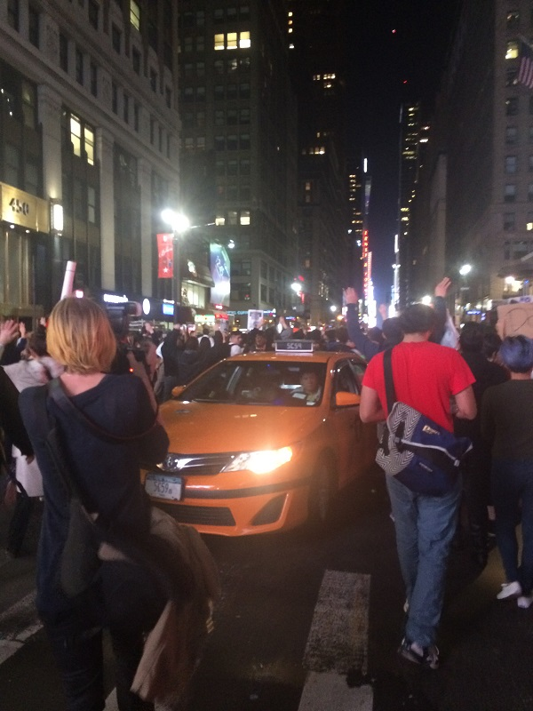 Mike-Brown-Ferguson-Protests-New-York-City-Broke-Ass-Stuart-NYC-Cab