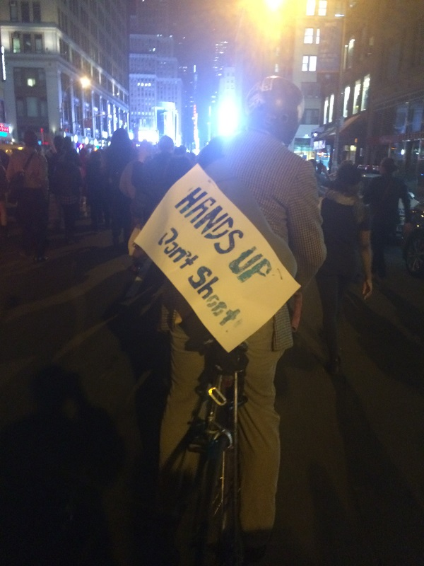 Mike-Brown-Ferguson-Protests-New-York-City-Broke-Ass-Stuart-NYC-Hands-Up-Sign