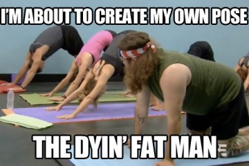funny-yoga-pose-dying-fat-man