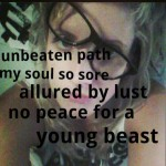 Badinage-lust-young beast