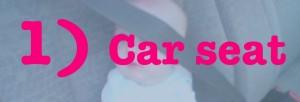 1 car seat