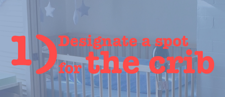 1 spot for the crib (banner)