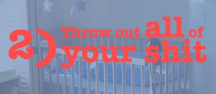 2 throw out your shit (banner)
