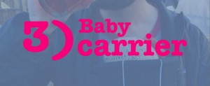 3 baby carrier