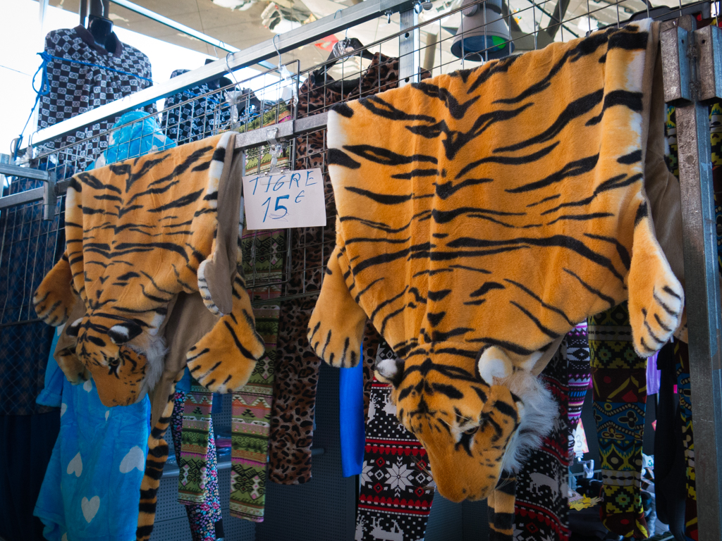 The tiger skin rugs you've always wanted but have never been able to go to India to obtain yourself because Peta is on your ass and you're blacklisted from Air India for drinking too many virgin Bloody Marys and pretending you were drunk just to make the plane ride go faster.