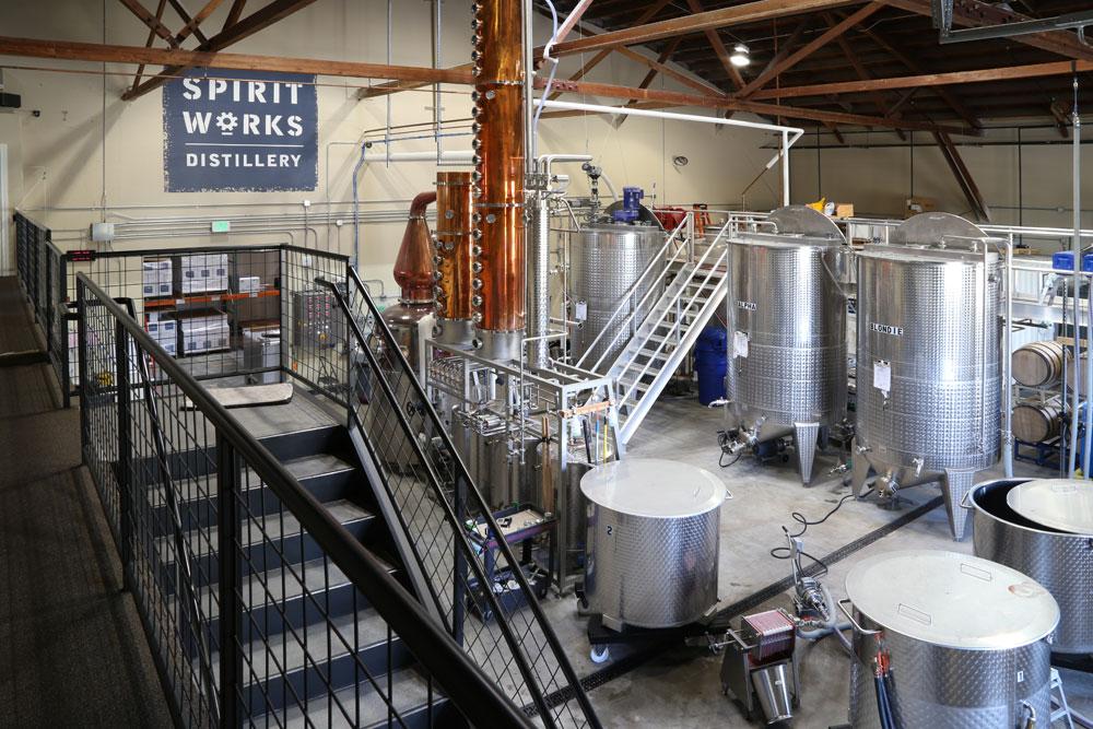 The copper still at Spirit Works