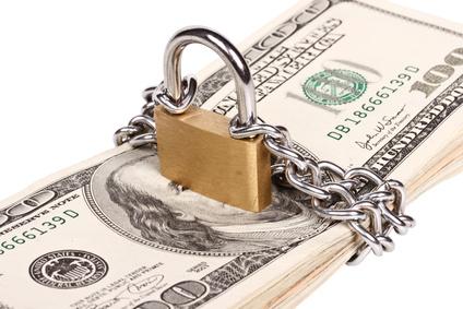 Money security concept