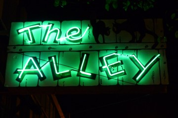 the alley bar