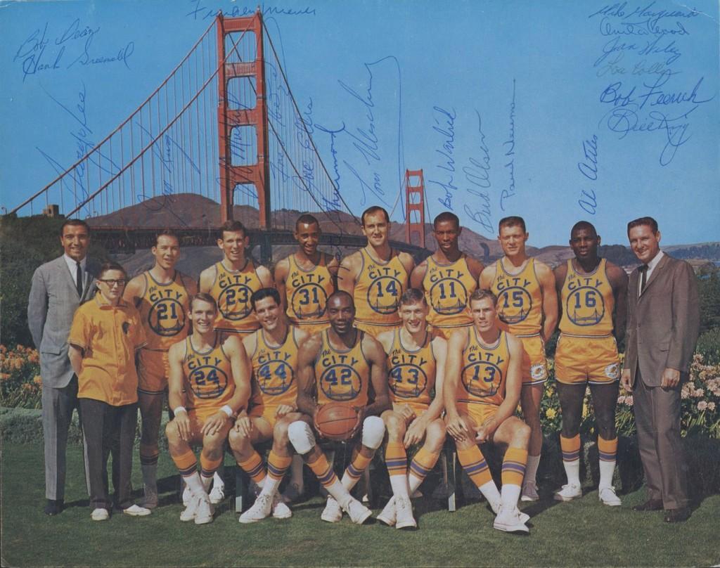 Warriors 66-67 Home Team