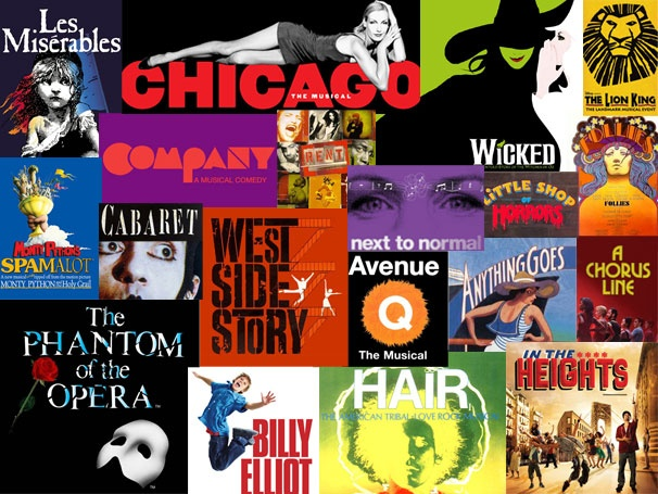 musicals-collage-hair-in-the-heights-the-phantom-of-the-opera-billy-elliot-anything-goes-a-chorus-line-next-to-normal-cabaret-west-side-story-avenue-q-next-to-notmal-rent-follies-little-shop-of-horrors-les-mis-les-miserables-chicago-wicked-the-lion-king-company-spamalot
