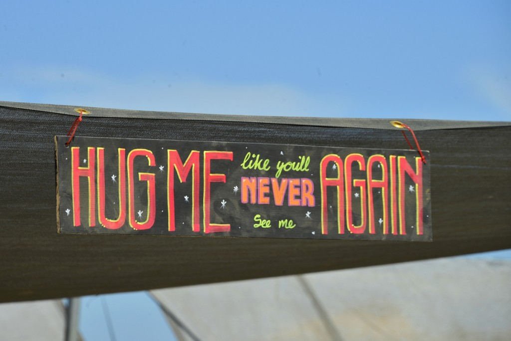 The hug and the snug, a camp dedicated to...well, you get the idea!