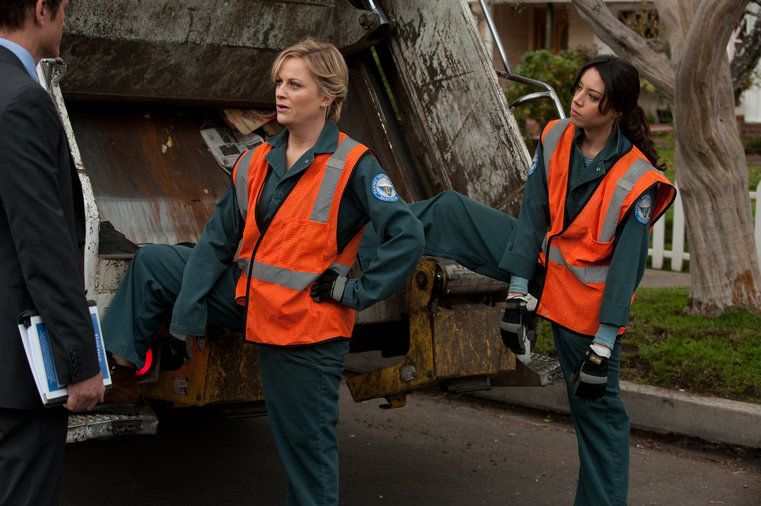 "Photo from the episode ""Women In Garbage"""