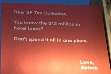air bnb billboard tax