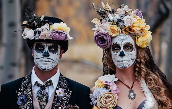 Dia de los muertos makeup for mens