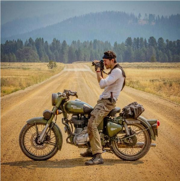 Justin--Alexander--Royal--Enfield--motorcycle