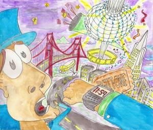 New Years illustration Smaller