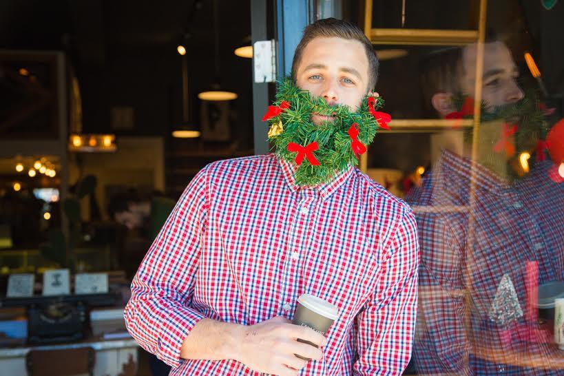holiday beards coffee