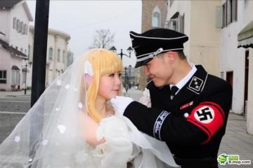 Nazi--wedding--china