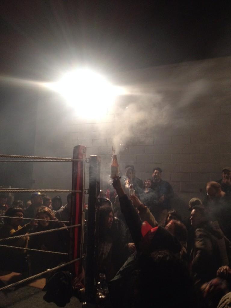 Fireworks & Fights!