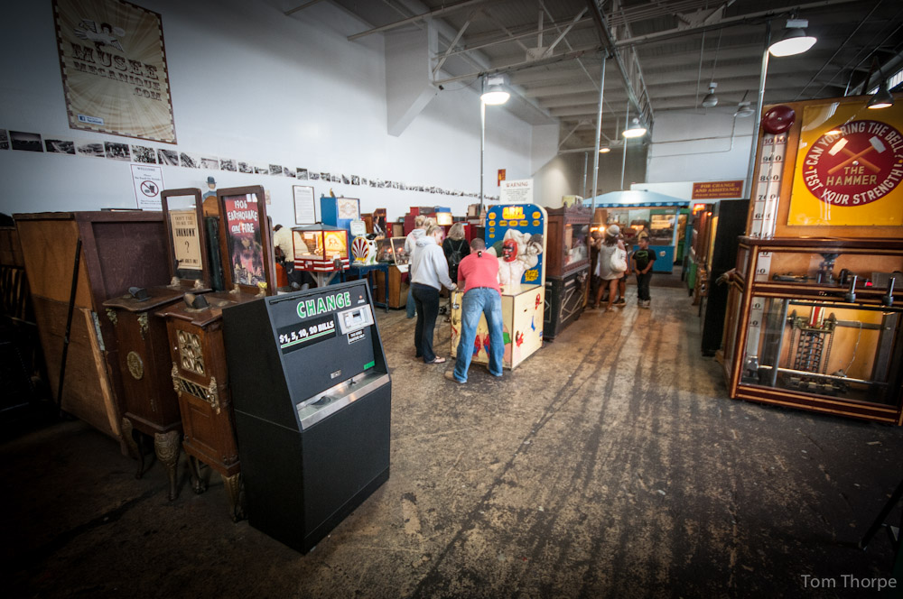 Musee Mecanique - One of the world's largest privately owned collections of mechanically operated musical instruments and antique arcade machines