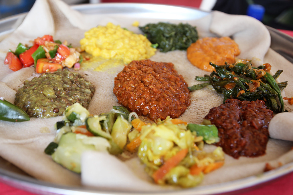 Ethiopian Food Eat With Hands