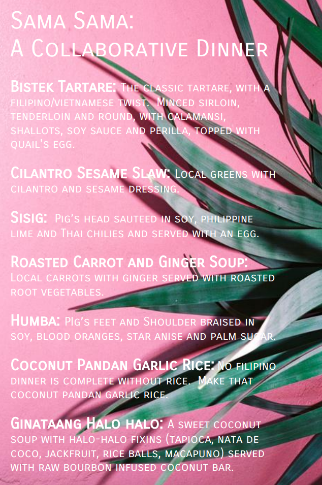 salo menu
