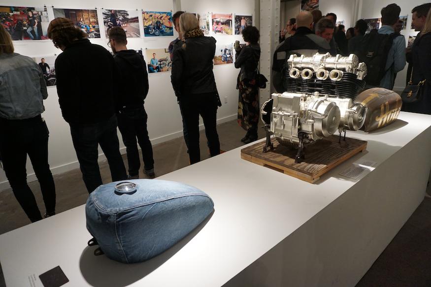 denim tank gold leafed engine
