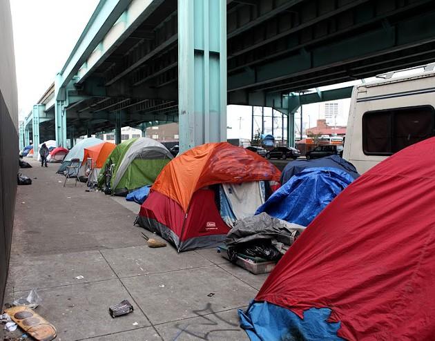 super-bowl-protest-tents