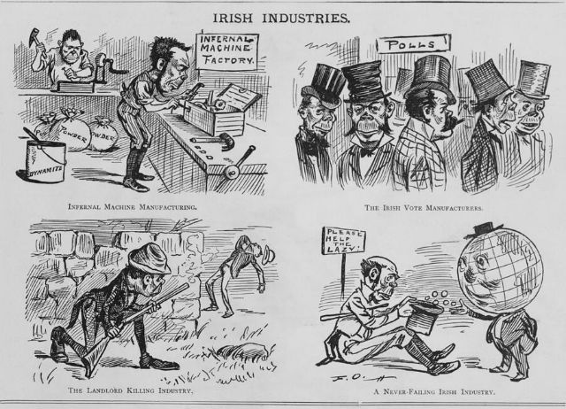 Drawing Lines Against Racism And Fascism : A history of anti irish racism in the us broke ass