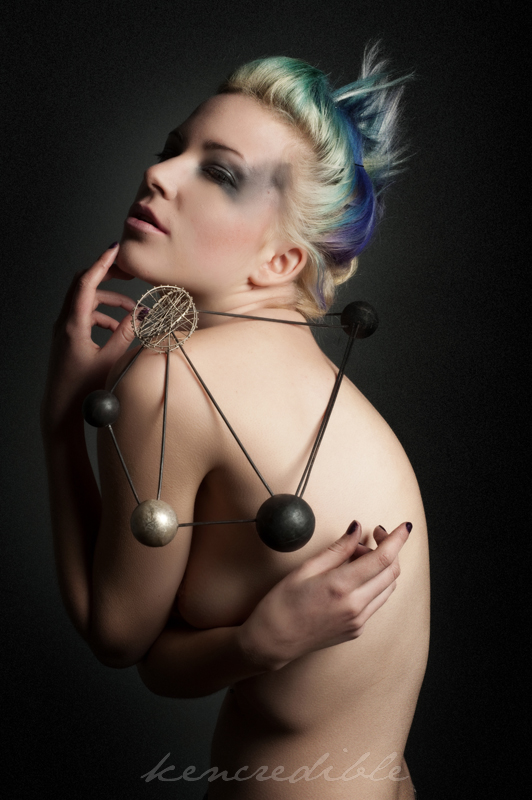 Jewelry: Photo by Kencredible, Jewelry by J Martin Jewelry MUA/Hair by Leah Velocity