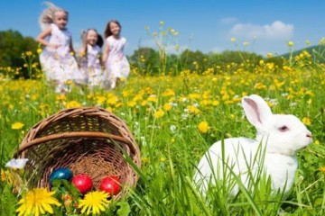 Easter-all-over-the-world---Easter-bunny--eggs--basket