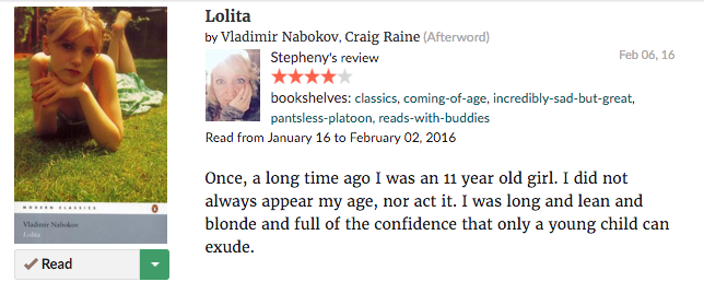 Lolita--goodreads--review