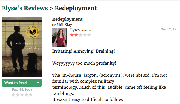 Redeployment--phil--klay--review