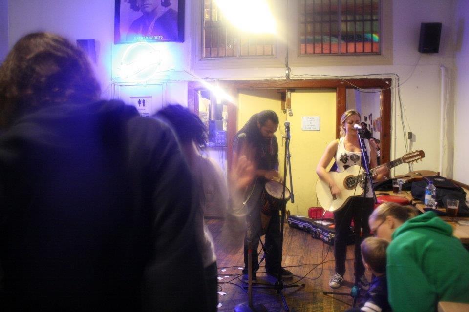 Cafe International open mic night (Fridays). Photo yelp