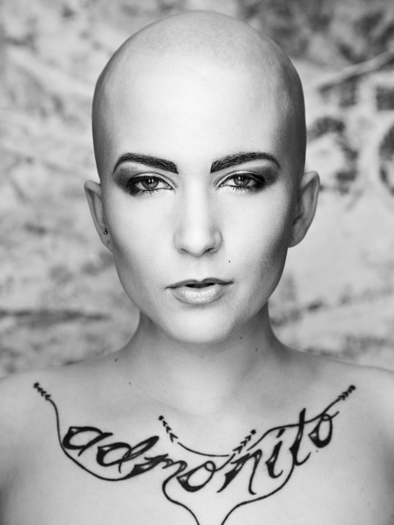 Bald head: Photo by Allan Amato MUA Leah Velocity