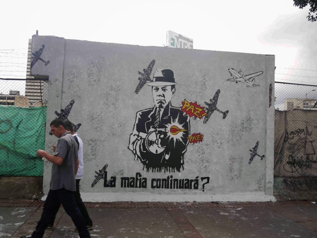 santos shooting peace mural