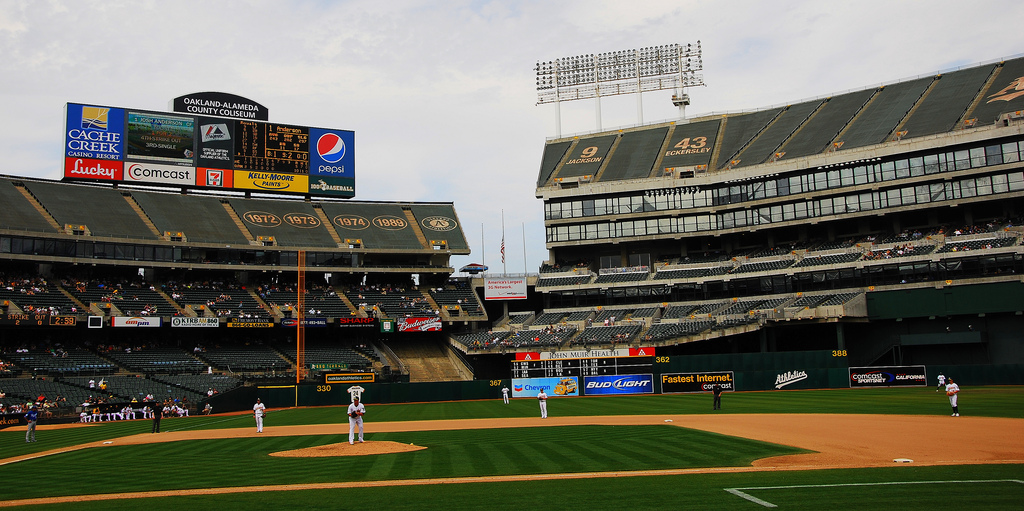 A's Stadium via flickr Amy Wong