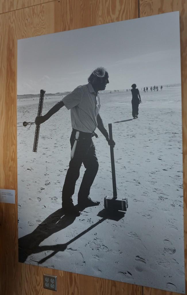 The photography of Lena Herzog on display at the Exploratorium