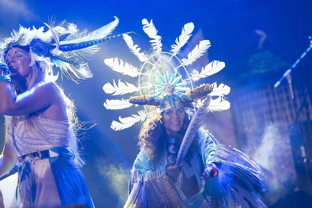 UBUD, BALI INDONESIA APRIL 3, 2016-- Deya Dova performing at Bali Spirit Festival.Photo Credit: Victoria Smith