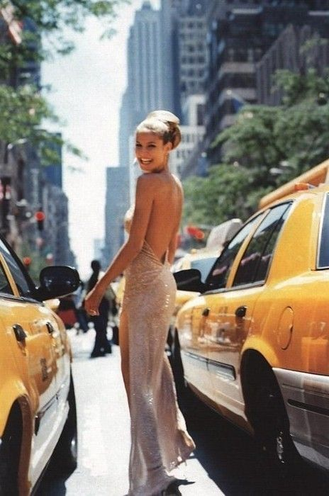 ball gown and taxi