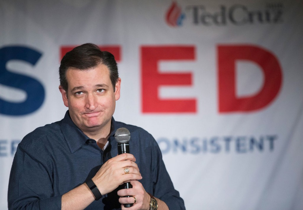 Ted Cruz sharted