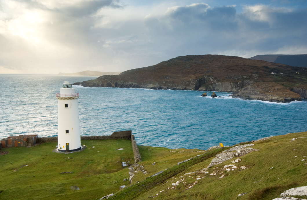 Bere Lighthouse via www.discoverireland.ie
