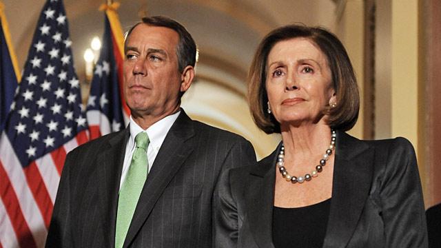 Pelosi and Boehner