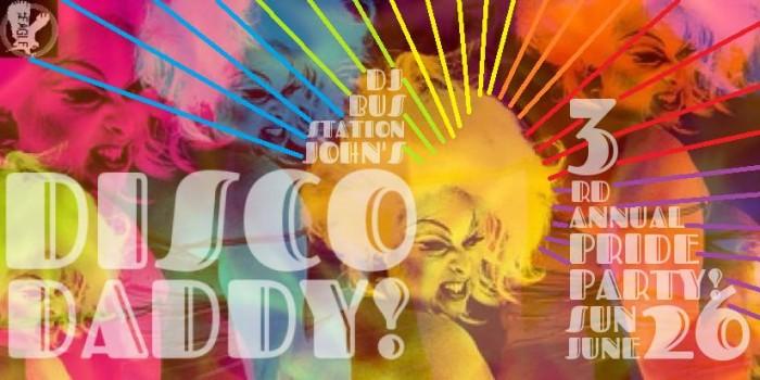 disco daddy pride 2016
