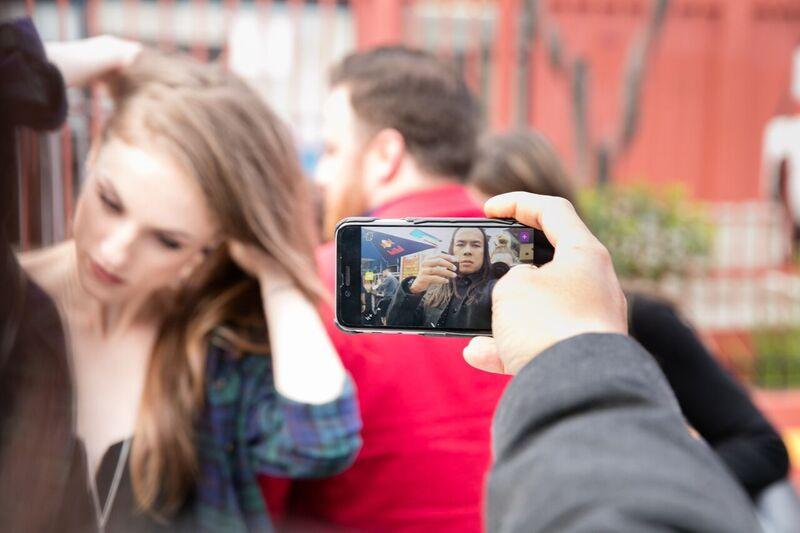 tony selfie