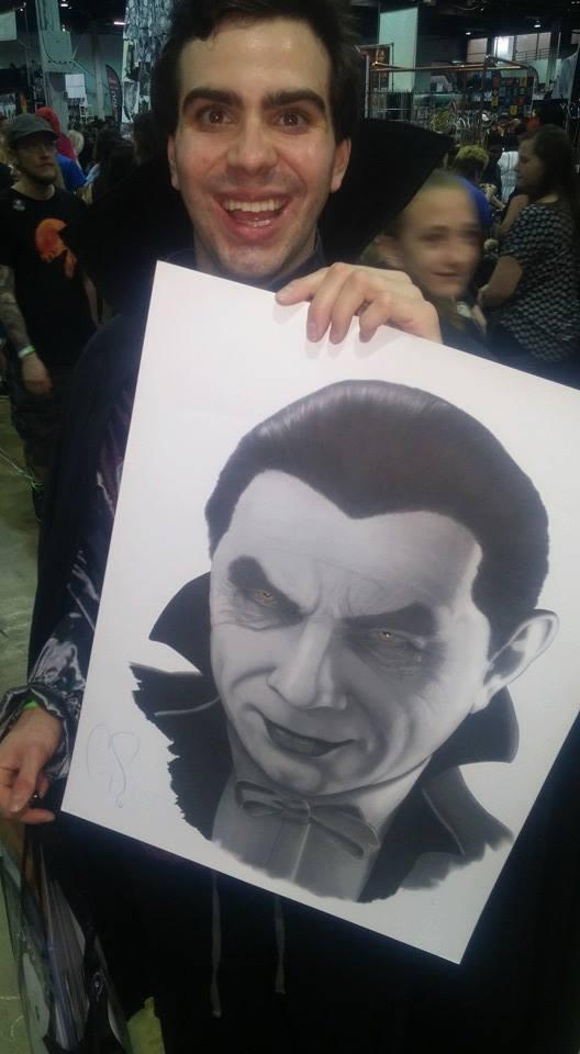 "Bobby Collins & Bela ""Dracula"" Lugosi/Facebook"