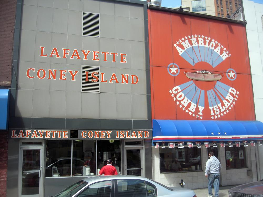 Lafayette and American Coney Island Detroit - Open 24/7